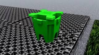 Vidéo: Drainbase pour Gazon Synthétique