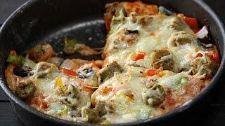 Chicken Pan Pizza  Sanjeev Kapoor Khazana