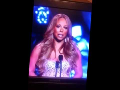 Mariah Carey Breaks down in An emotional Tribute to Whitney Houston ♥♥♥