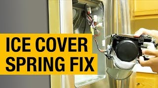 1 Pieces Spring For Samsung Refrigerator Etc-Cover Ice Route DA61-01914A