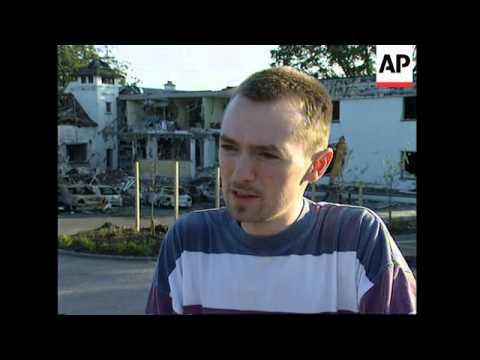 NORTHERN IRELAND: ENNISKILLEN: BOMB ATTACK SCARES OFF TOURISTS