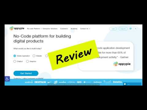 Appy Pie Review | Real User Reviews of AppyPie.com from YouTube · Duration:  3 minutes 34 seconds