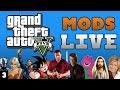 GTA 5 Mods LIVE with BATMAN!