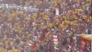 Inno della Roma cantato dai tifosi prima di Roma-Lazio 2-0 | 22/09/2013