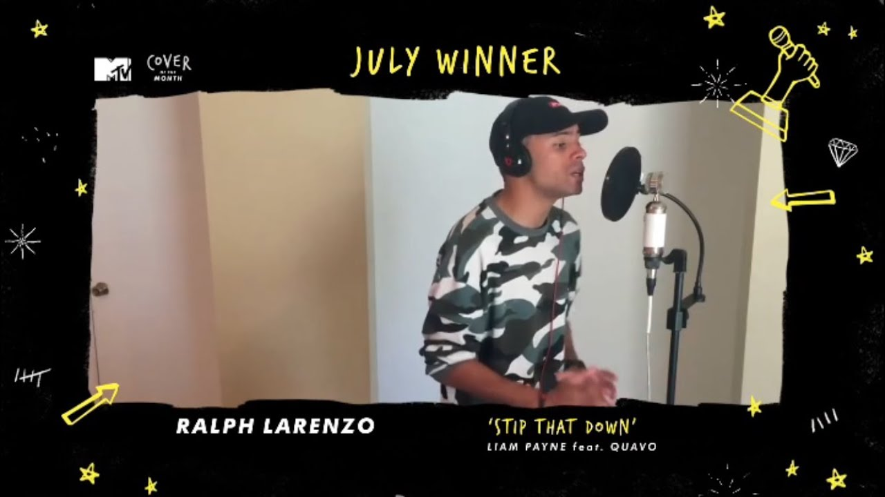 Strip That Down - Liam Payne (Ralph Larenzo Cover) | MTV Cover of the Month July Winner!!