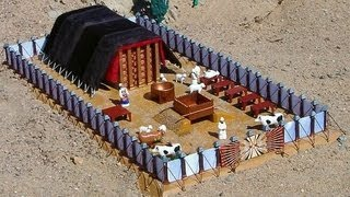 The Gospel Message in the Tabernacle of Moses — The Courtyard