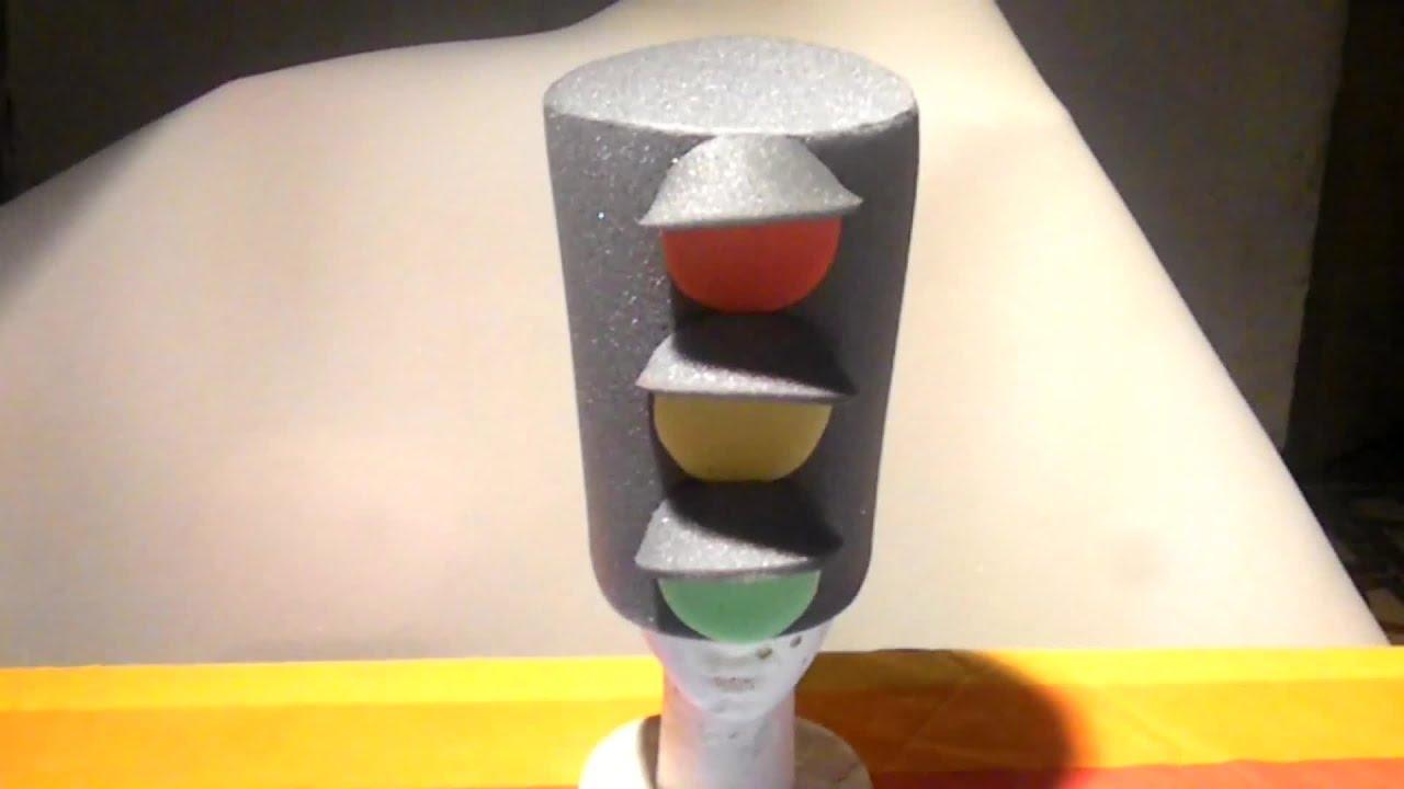 Como hacer gorro de goma espuma semaforo youtube for Como se elabora un vivero