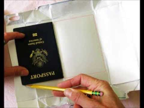 Diy rfid blocker sleeves for cards and passports youtube diy rfid blocker sleeves for cards and passports solutioingenieria Images