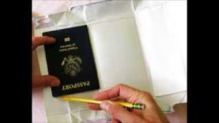 DIY RFID Blocker Sleeves, for cards and passports