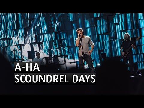 A-HA - SCOUNDREL DAYS - The 2015 Nobel Peace Prize Concert