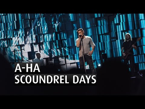 A-HA - SCOUNDREL DAYS - The 2015 Nobel Peace Prize Concert
