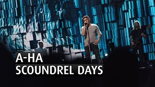 "A-ha performs their song ""Scoundrel Days"" at the 2015 Nobel Peace P..."