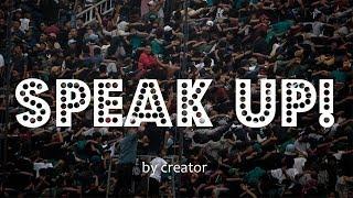 Speak Up YouTube BCS!