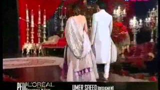 fawad n mahira on ramp at pfdc l'oreal paris bridal week day 4