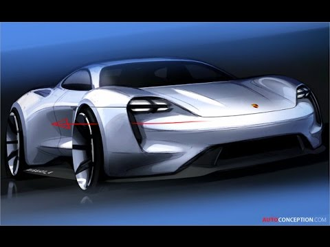 Car Design Porsche Mission E Concept Design Story Youtube