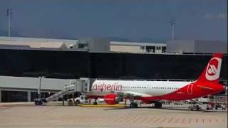 Palma de Mallorca Airport (Full HD)
