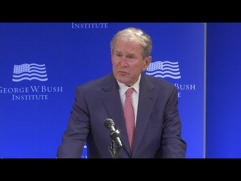 Bush: Bigotry, White Supremacy is Un-American