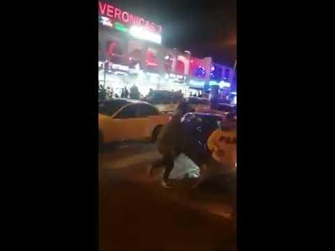 Rompe la ventanilla de la patrulla policial y escapa en Las Verónicas Tenerife