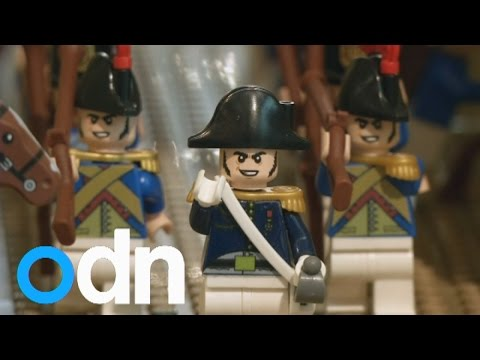 Amazing Lego Exhibition Of Napoleon Bonaparte's Life