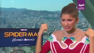 Al Arabiya sits down with Spider-Man: Homecoming's Zendaya