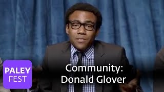 Community - Real moments with Chevy Chase, Donald Glover, and cast