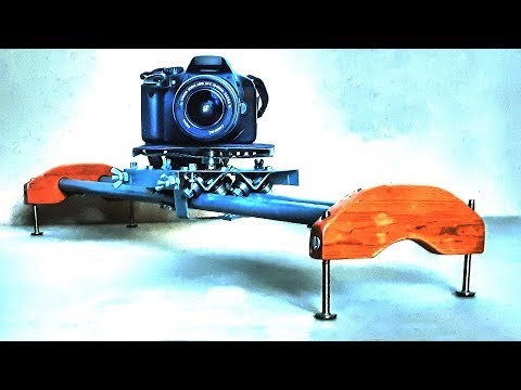 DIY slider for DSLR camera - test 1