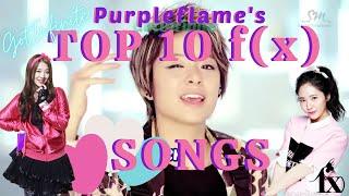 GotInfinite Countdowns - Top 10 f(x) Songs [ADMIN'S PICK…