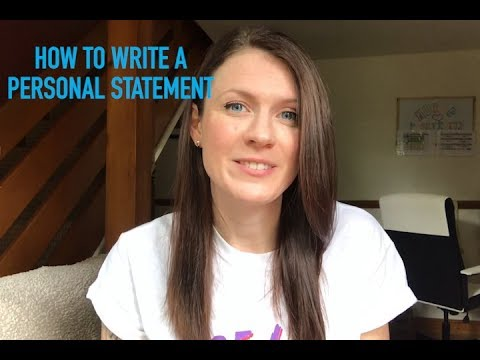 How To Write A Personal Statement | Student Tips