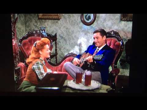 "Errol Flynn & Alexis Smith sing ""Reckin' I'm in Love"" from ""Montana"" (1950)"
