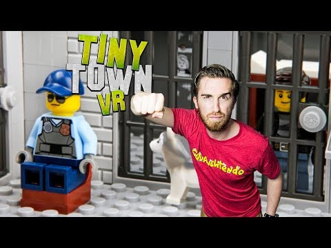 BUILDING THE ULTIMATE PRISON! | Tiny Town VR Gameplay - HTC Vive gameplay