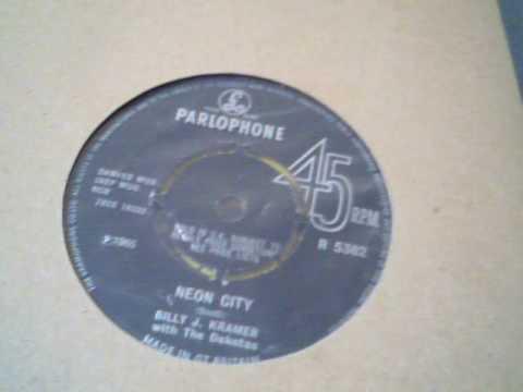 BILLY J KRAMER and the DAKOTAS Neon City 1965