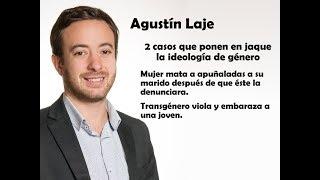 Agustín Laje: Mujer asesina a su pareja y travesti viola y embaraza a una joven