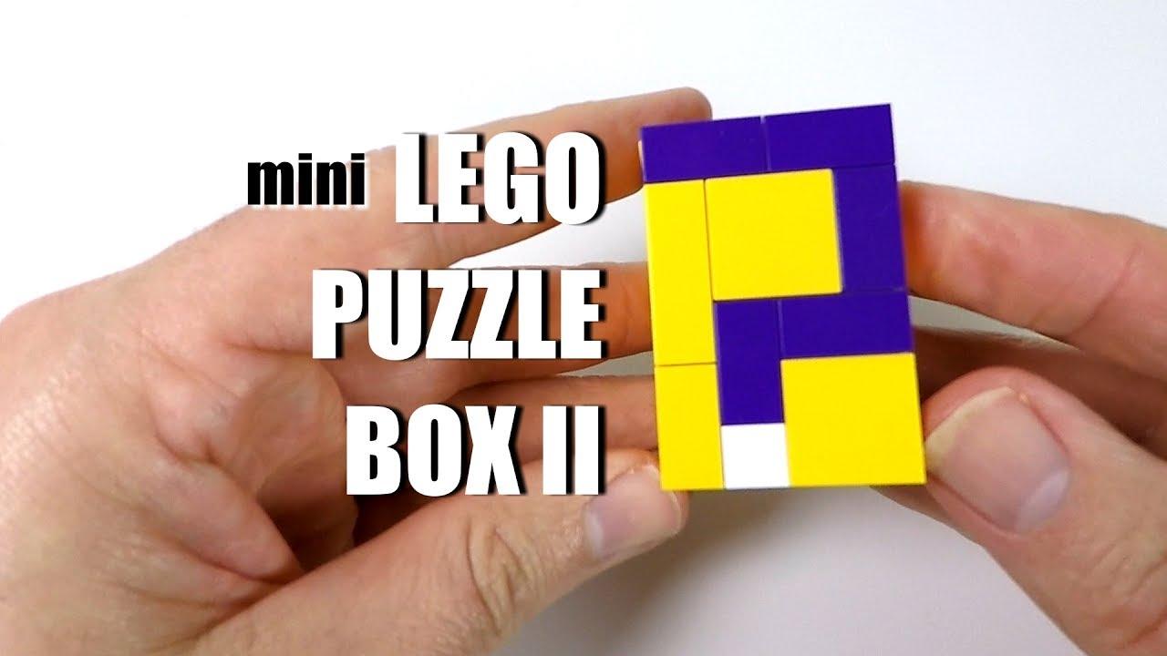 mini LEGO Puzzle Box II - Another LEGO Puzzle Box Idea