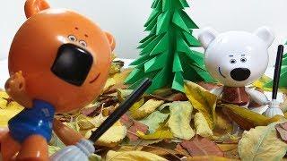 Ми-Ми-Мишки и Осенние Листья/ Играем в Игрушки/ Детское Видео для Малышей/ Супер Игрушки ТВ