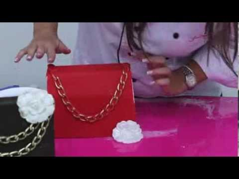 Fondant Chanel Pocketbook Tutorial
