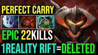 Perfect Carry [Chaos Knight] WTF Damage Reality Rift=Deleted 22Kills Zero Death | Dota 2 FullGame