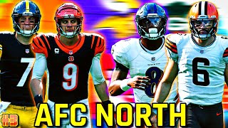 I WON A GAME WITH ALL 32 NFL TEAMS #3!! AFC North