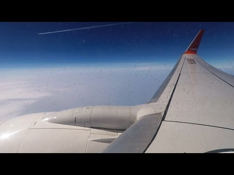 Full flight video, Seoul (Incheon) to Tokyo (Narita), B737-8