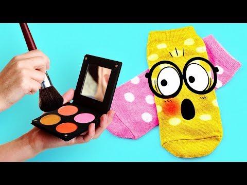 DIY VIRAL REVERSIBLE PLUSHIE!!! Owl & Penguin Sock Plush