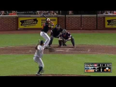 Baltimore Orioles vs Detroit Tigers Chris Dickerson Game Winning Home Run