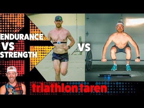 Triathlon Training for ENDURANCE vs training for STRENGTH