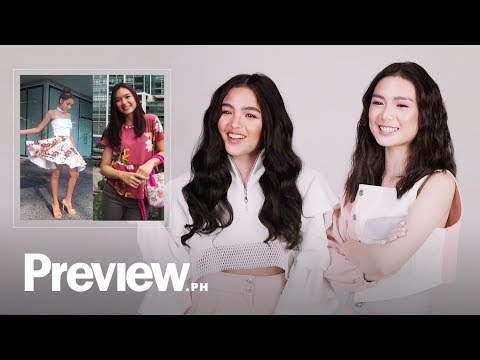 Andrea Brillantes and Francine Diaz React To Their Old OOTDs | Outfit Reactions | PREVIEW