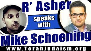 R' Asher speaks with Mike Schoening