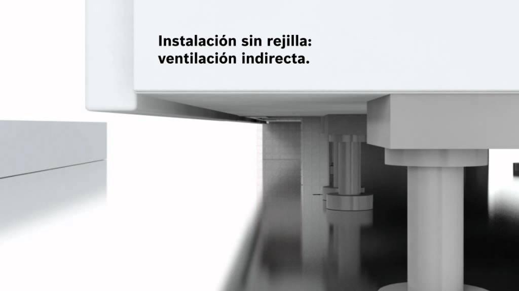 frigorficos integrables bosch con tecnologa de ventilacin directa