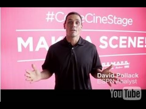 ESPN's David Pollack Gets In On The Action At Cinemark Theatres #CokeCineStage
