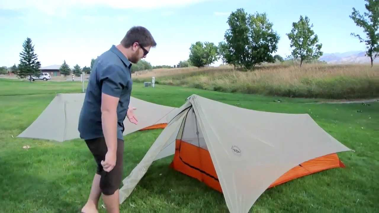 & Sneak Peek - New Big Agnes Scout UL Shelters - YouTube