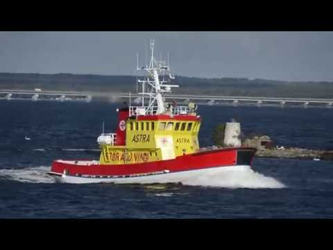 Shipsforsale Sweden, Swedish ice breaking Rescue vessel ASTRA, tug boat, passenger ship for sale.