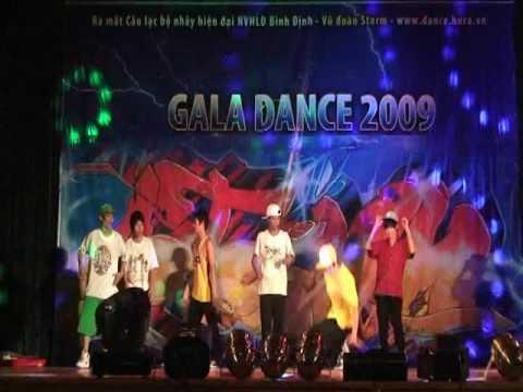 Nhảy Freestyle - Vũ đoàn Storm - Gala Dance 2009