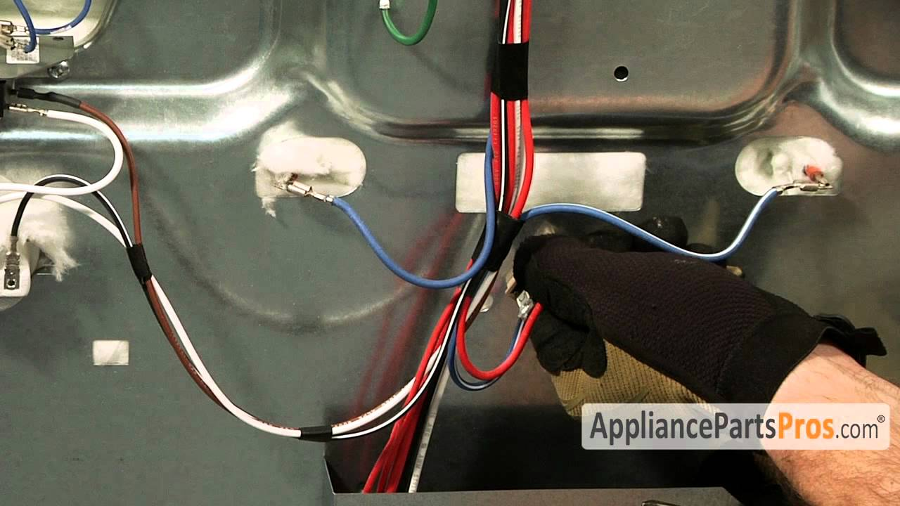 Samsung Gas Stove Wiring Diagram Trusted Ge Range Oven Thermal Fuse Part Wp3196548 And Others How To Replace Youtube
