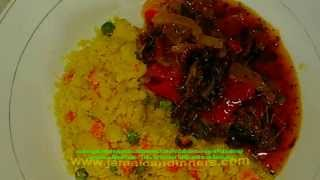 Not Turned Cornmeal - Jamaican food kitchen nightmare